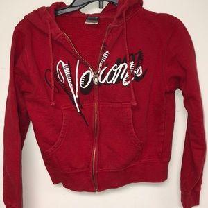 VOLCOM kids zip up sweatshirt